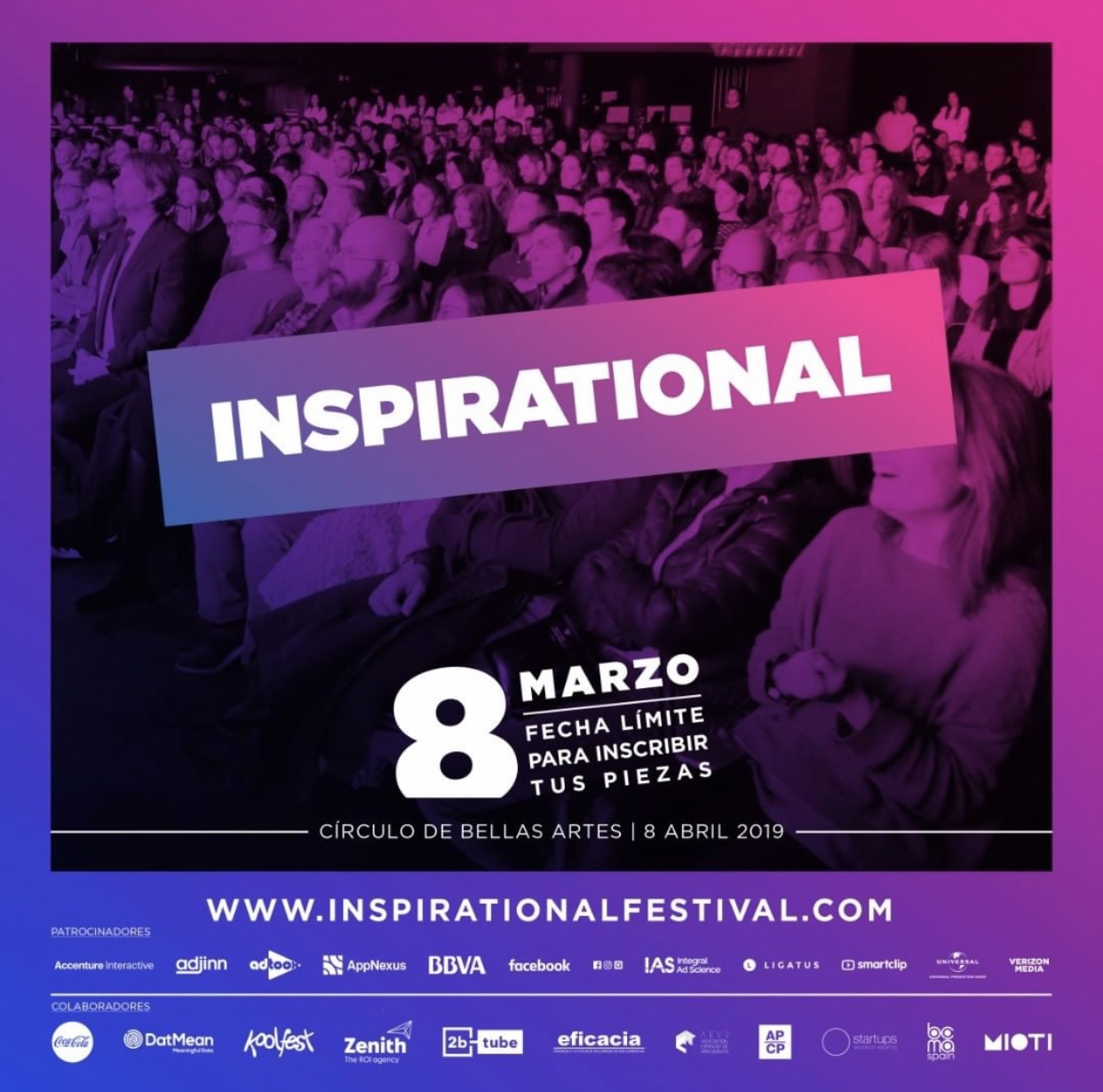 DatMean colabora como patrocinador en el Inspirational Festival