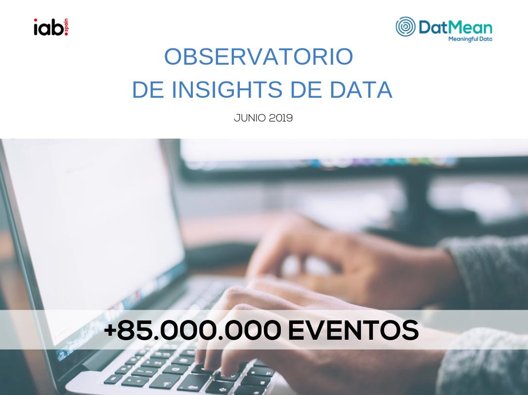 DatMean presenta el Observatorio de Insights de Data en colaboración con iab.