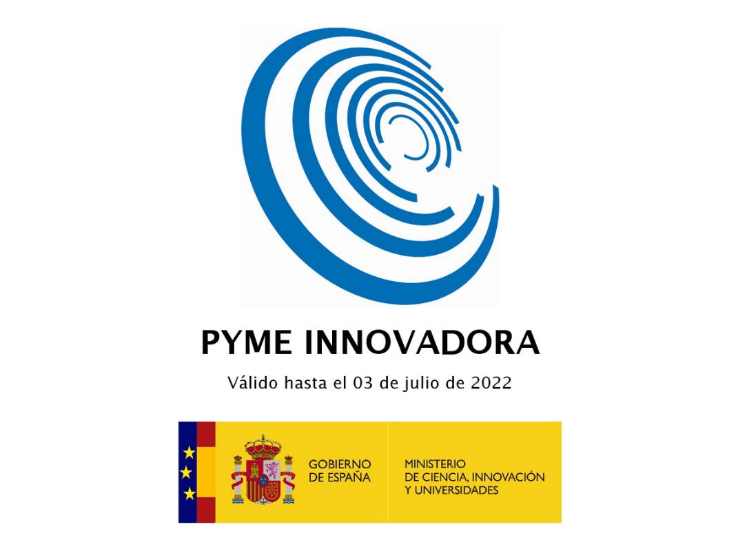 El Ministerio de Ciencia, Innovación y Universidades hareconocido a DatMeancomo Pyme Innovadora.