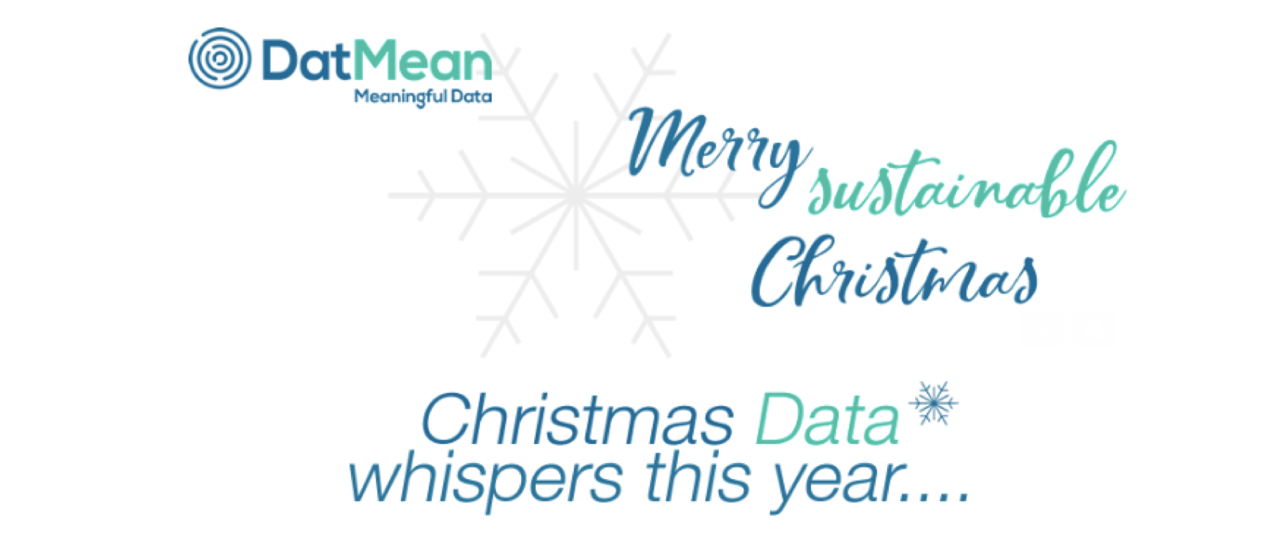 Christmas Data whispers this year…*